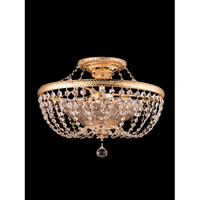 St. Marys Bay 4 Light 20 inch Gold Flush Mount Ceiling Light