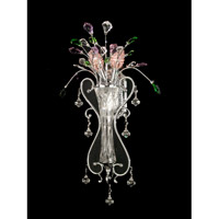Dale Tiffany Buckley 2 Light Wall Sconce in Polished Chrome GH90118
