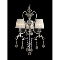 Dale Tiffany Hay Street 3 Light Chandelier in Polished Chrome GH90122