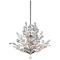 Monaco 9 Light 26 inch Polished Chrome Chandelier Ceiling Light