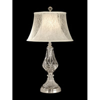 Dale Tiffany Lawrence Table Lamp 1 Light in Chrome GT10227