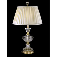 Dale Tiffany Kelly Table Lamp 1 Light in Antique Brass GT10228