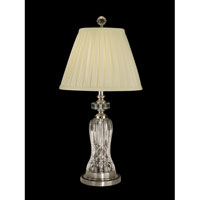 Dale Tiffany Miller Table Lamp 1 Light in Antique Pewter GT10235