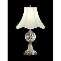 Hudson 23 inch 150 watt Pewter Table Lamp Portable Light