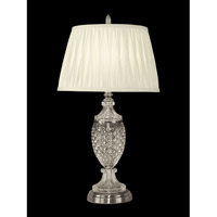 Dale Tiffany Simpson Table Lamp 1 Light in Antique Pewter GT10364
