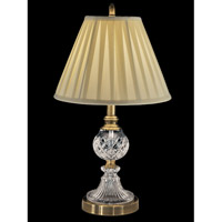 Savoy 22 inch 150 watt Antique Brass Table Lamp Portable Light
