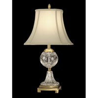 Dale Tiffany GT10370 Sutton 24 inch 150 watt Antique Brass Table Lamp Portable Light photo thumbnail