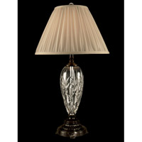 Dale Tiffany Lucy Crystal Table Lamp 1 Light in Oil Rubbed Bronze GT11224
