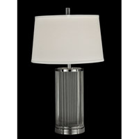 Dale Tiffany Zinfandel 1 Light Table Lamp in Polished Chrome GT13257