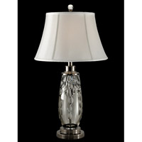 Dale Tiffany Signature 1 Light Table Lamp in Antique Nickel GT13258