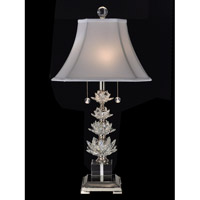 Dale Tiffany Signature 2 Light Table Lamp in Polished Nickel GT13262