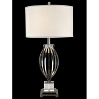 Dale Tiffany Bird Cage 1 Light Table Lamp in Polished Nickel GT13269