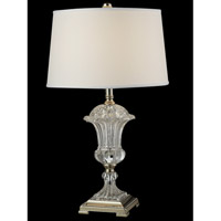 Dale Tiffany Orb 1 Light Table Lamp in Polished Nickel GT14268