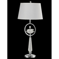Viviana 33 inch 100 watt Polished Chrome Table Lamp Portable Light