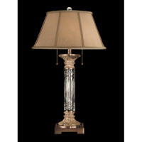 Dale Tiffany Sierra Table Lamp 2 Light in Antique Brass GT60627