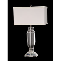 Dale Tiffany Genova Table Lamp 1 Light in Brushed Nickel GT70033