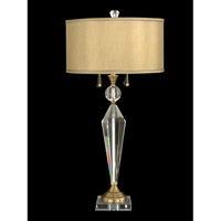 Dale Tiffany Strada 2 Light Table Lamp in Antique Brass GT701218