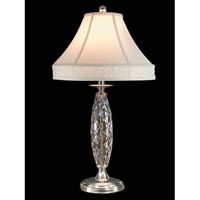 Dale Tiffany Irvington 1 Light Table Lamp in Polished Chrome GT70415