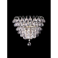 Dale Tiffany Harrison Wall Sconce 2 Light in Polished Chrome GW10305