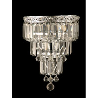 Dale Tiffany Bradford Wall Sconce - Small 2 Light in Polished Chrome GW10732