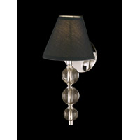 Dale Tiffany Hunters Point Wall Sconce 1 Light in Polished Chrome GW10738