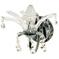 Dale Tiffany Sullivan Wall Sconce 1 Light in Polished Chrome GW10740