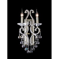 Dale Tiffany Richmond Park Wall Sconce 2 Light in Satin Nickel GW11037