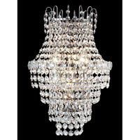 Conchita 3 Light 13 inch Polished Chrome Wall Sconce Wall Light