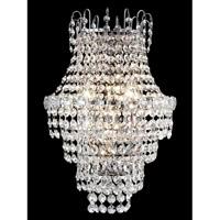 Dale Tiffany GW13351 Conchita 3 Light 13 inch Polished Chrome Wall Sconce Wall Light