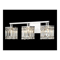 Dale Tiffany Cahas 3 Light Vanity Light in Polished Chrome GW14166