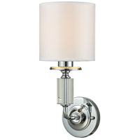 Dale Tiffany GW15322LED Gretel LED 6 inch Polished Chrome Wall Sconce Wall Light