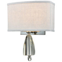 Dale Tiffany GW15328 Abbott 2 Light 11 inch Polished Chrome Wall Sconce Wall Light