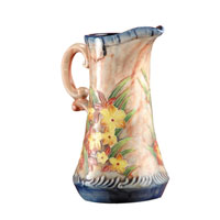 Dale Tiffany Springtime Porcelain Pitcher PA500138