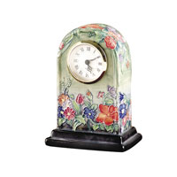 Dale Tiffany Flower Garden Clock PA500160