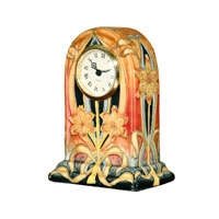 Dale Tiffany Pasque Flower Clock PA500200