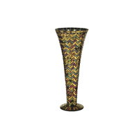 Dale Tiffany Herringbone Vase PG10259