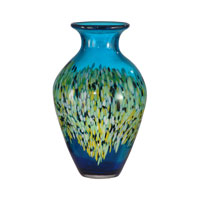Dale Tiffany Poppy Field Tall Vase PG10630