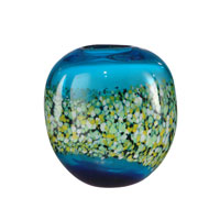 Dale Tiffany Poppy Field Vase PG10631
