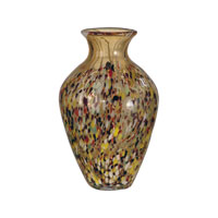 Dale Tiffany Amber Speckle Tall Vase PG10633