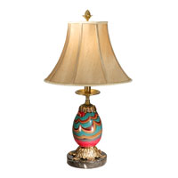 Dale Tiffany Splendor Table Lamp 1 Light in Antique Bronze PG50142