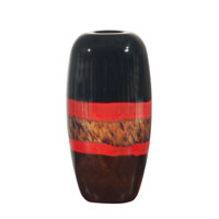 Dale Tiffany Ebony Vase PG60112