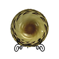 Dale Tiffany Goldenrod Charger With Stand PG60564