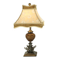 Dale Tiffany San Felipe Table Lamp 1 Light in Nickel PG80333