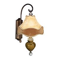 Dale Tiffany San Felipe 1 Light Wall Sconce in Antique Brass PG90068 photo thumbnail