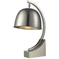 Dale Tiffany PT14313 Mulisa 16 inch 60 watt Polished Nickel Desk Lamp Portable Light
