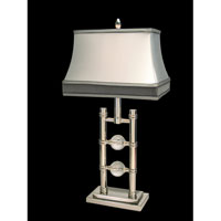 Dale Tiffany Haddock Table Lamp 1 Light in Chrome PT60194