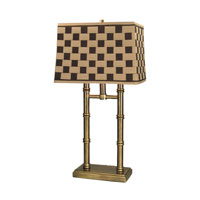 Dale Tiffany PT60348 Laredo 26 inch 100 watt Antique Brass Table Lamp Portable Light