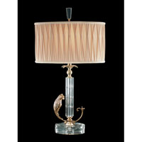 Dale Tiffany Carolina Table Lamp 1 Light in Antique Brass RT70424 photo thumbnail