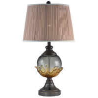 Dale Tiffany SAT16005LED Bonnie 27 inch 7.5 watt Oil Rubbed Bronze Table Lamp Portable Light