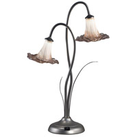 Lilly 21 inch 3 watt Silver Accent Lamp Portable Light